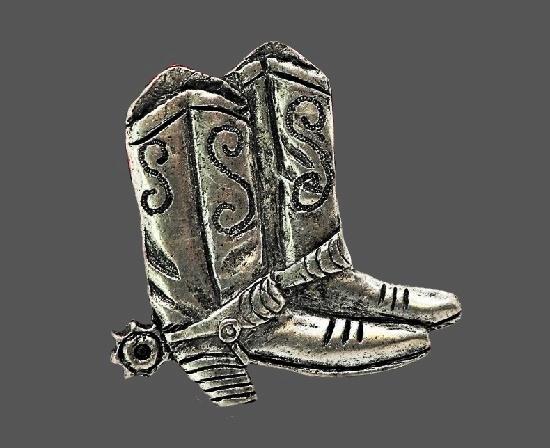 Cowboy Boots Pin. 1992