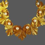 Signed Charel vintage costume jewelry