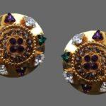 Signed Cereve vintage costume jewelry
