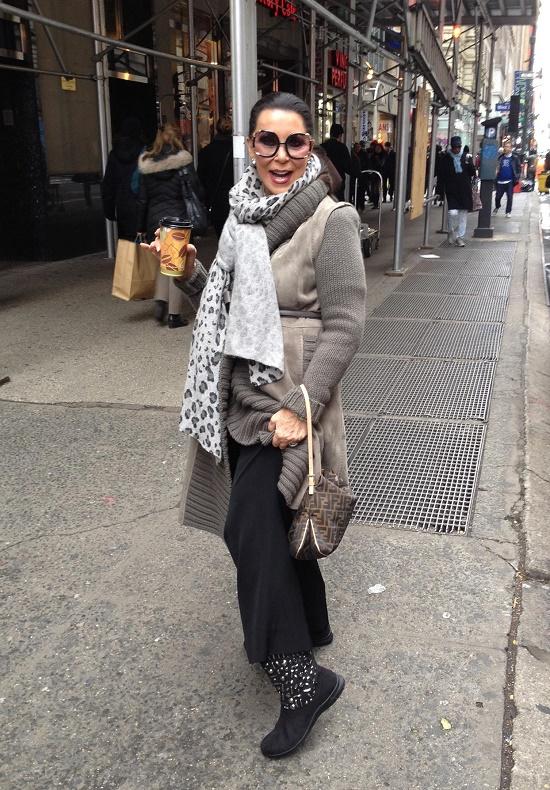 Stylish and beautiful Joan