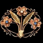White Manufacturing Co vintage costume jewelry