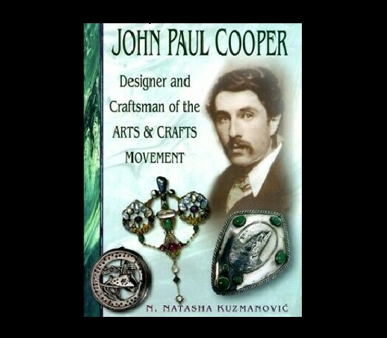 Book cover, John Paul Cooper - designer and craftsman of the Arts &crafts movement