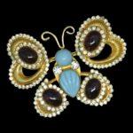 William De Lillo vintage costume jewelry
