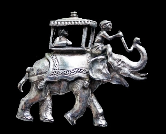 Elephant brooch from the collection 'Baghdad thief'
