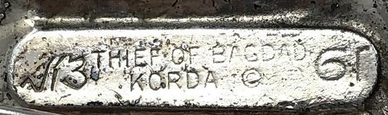 Labelled Thief of Bagdad Korda