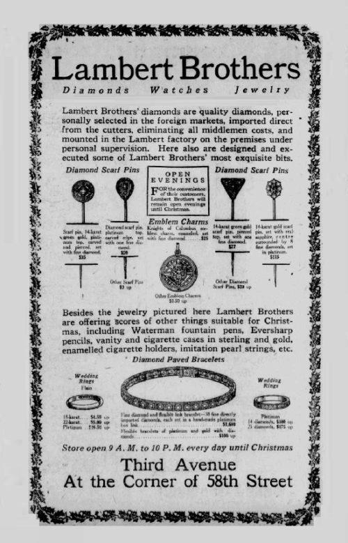 Retro ads, 1922