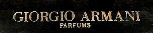 Signed Giorgio Armani Parfums