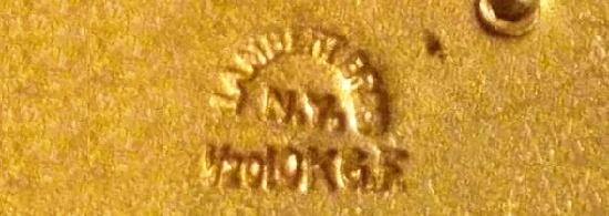 Signed Lambert Bros NY 10 K gf