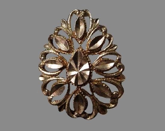 Teardrop Pendant. Sterling silver
