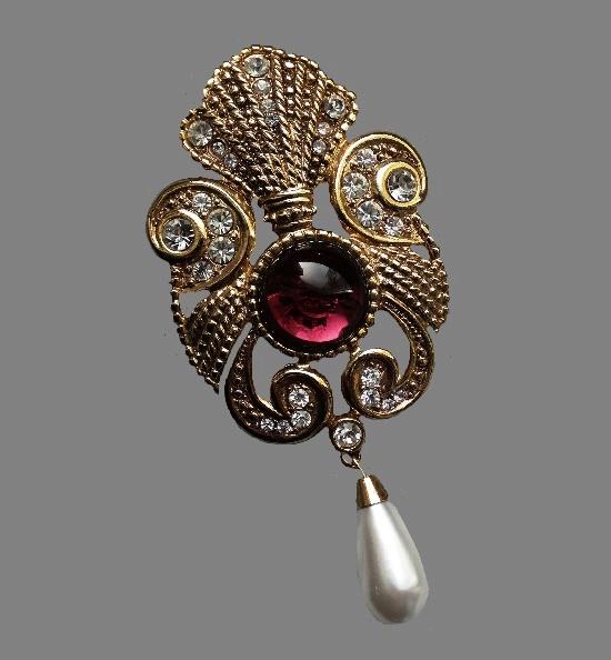 Jeff Lieb vintage costume jewelry