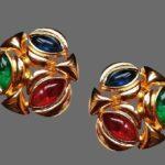 Signed Escada vintage costume jewelry