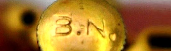 B.N. stamp