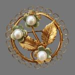 Charles Reis CR Co vintage costume jewelry