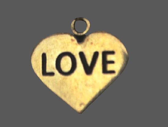 Love pendant. 925 sterling silver