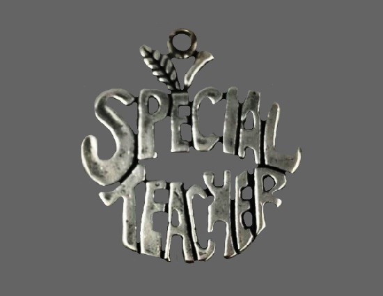 Special Teacher 925 sterling silver charm