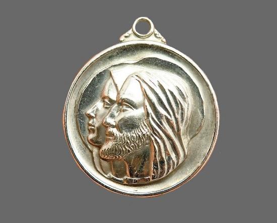 St. Mary & Jesus Medal Pendant