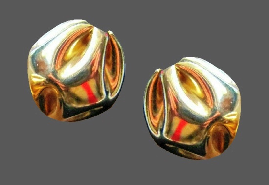 14 K gold plated earrings