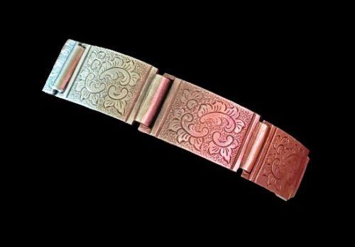 1930s sterling silver bracelet