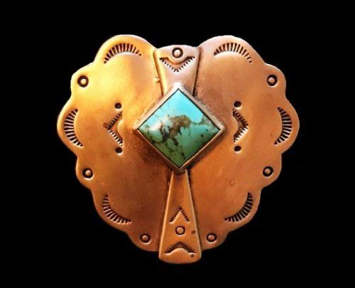 Steampunk design sterling silver pendant