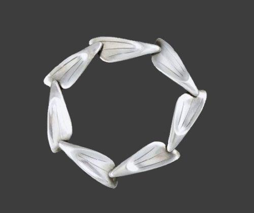 1960s sterling silver bracelet