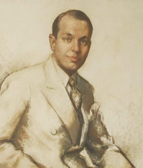 American jewelry designer Paul Flato. 1937