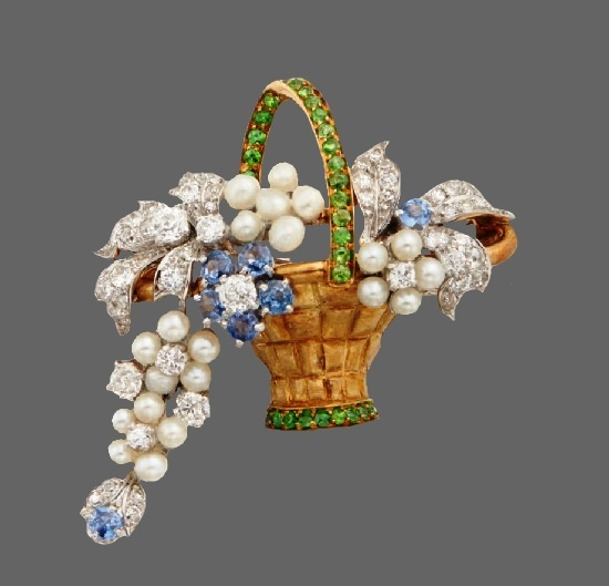 American jewelry designer Paul Flato