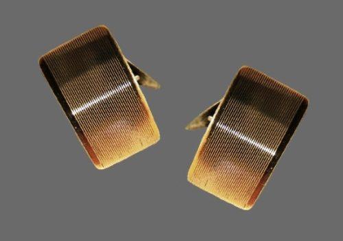 Gold filled 830 silver cufflinks. 1950s