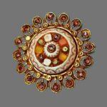 Kalinger Paris vintage costume jewelry