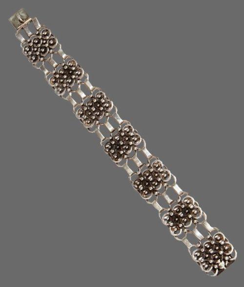 Mid 20th century sterling silver bracelet