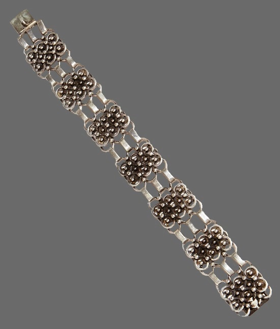 Mid 20th century sterling silver bracelet