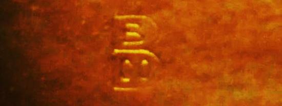 Signature B inside bigger B