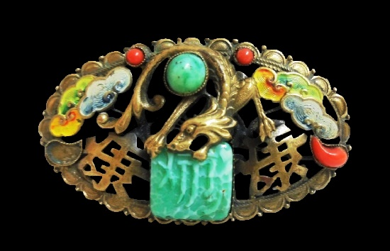 Max Neiger vintage costume jewelry