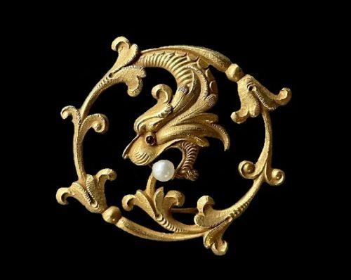 Carter Gough antique costume jewelry