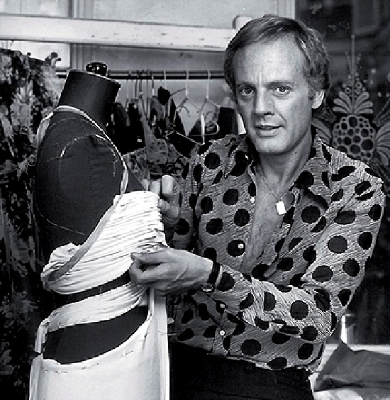 French-Italian designer Azzaro
