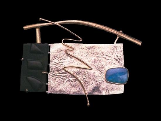 Eric Russell and Caroline Strieb jewelry art