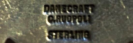 Danecraft C.Ruopoli sterling signature