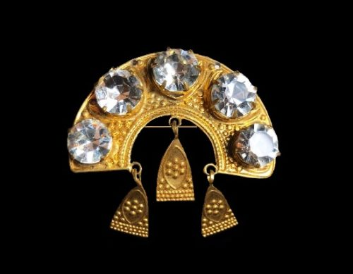 Soviet vintage costume jewelry
