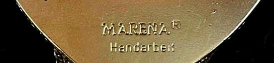 Marena Handarbeit signed