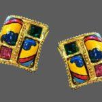 Signed Pinz vintage costume jewelry