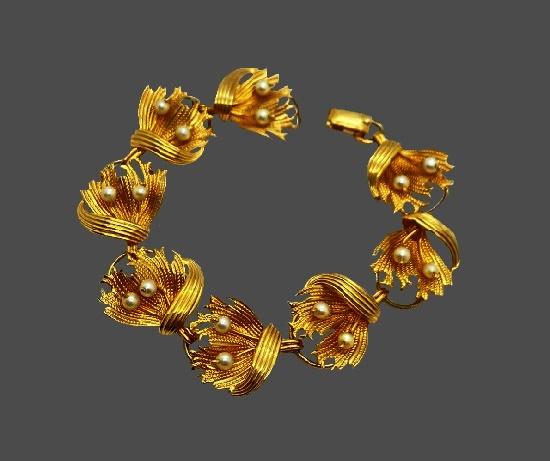 Pearl 12 K gold filled bracelet