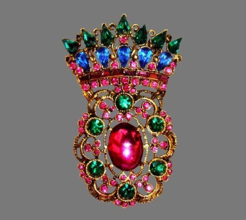 Thelma Deutsch vintage costume jewelry