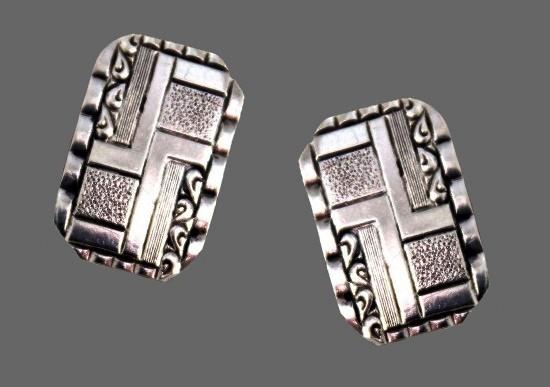 830s Sterling Silver Cufflinks