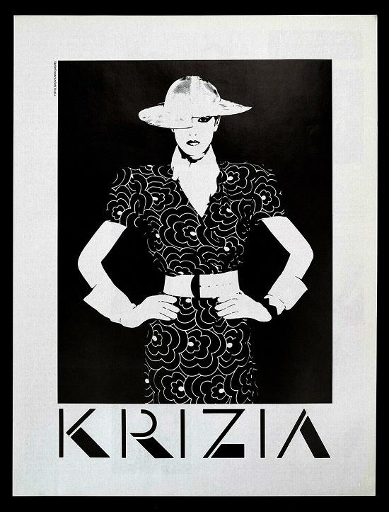 Fashion ad, 1985