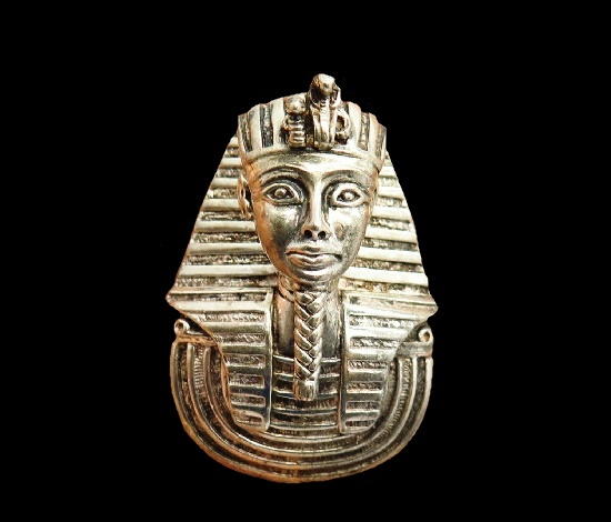 Pharaoh sterling silver pendant from Egyptian collection