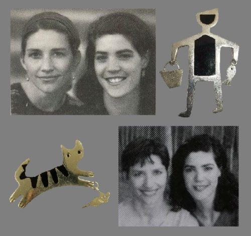 Anne & Jane Harvey vintage costume jewelry