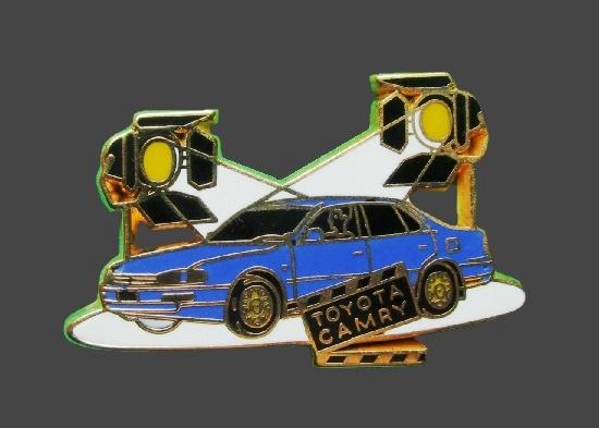 Toyota Camry enameled badge