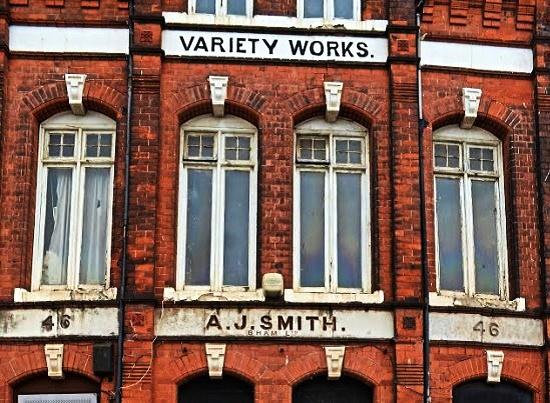 46 Frederick Street, Birmingham, Arthur Johnson Smith Variety Works