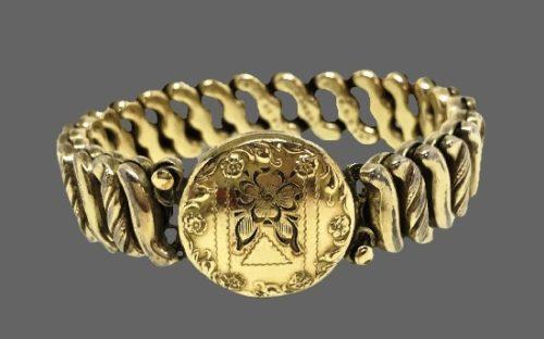 Adjustable Gold Filled Bracelet. 1901
