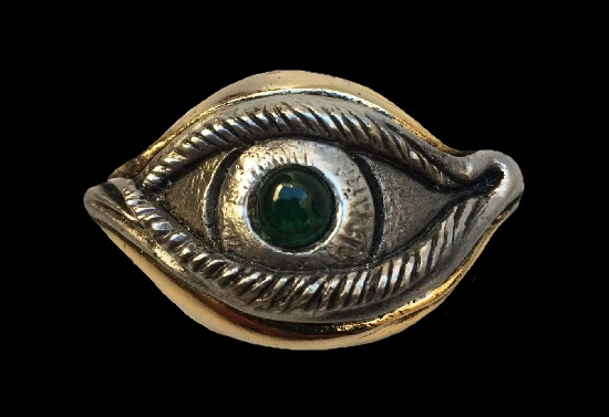 Frank Meisler vintage sculpted jewelry