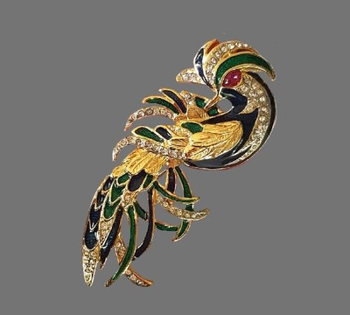Signed Angel vintage costume jewelry